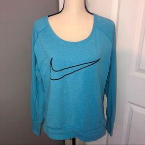Nike Dri Fit Scoop Neck Sweatshirt